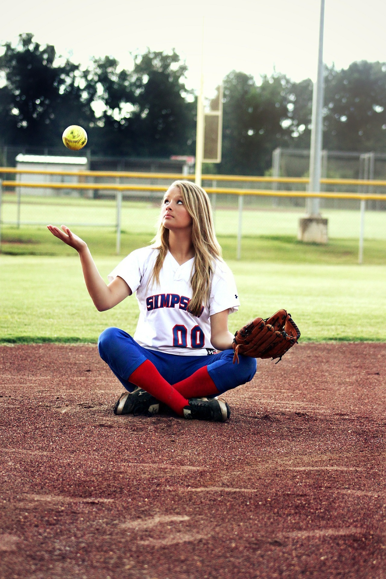 Softball Girl