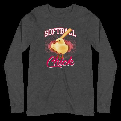 Softball Chick Women's Long Sleeve Shirt