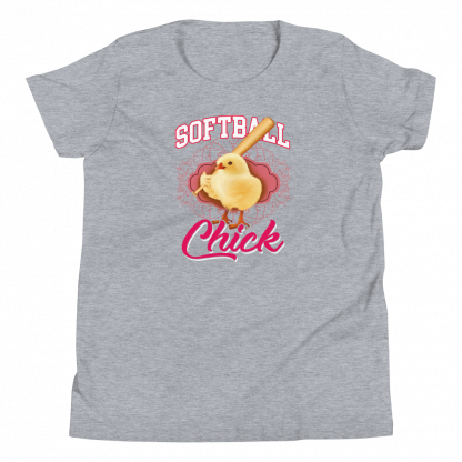 Softball Chick Youth T-Shirt